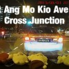 Accident at Ang Mo Kio Ave 1 cross junction in GIF
