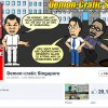 Online cartoonist wins instant fame after getting arrested