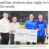 S'poreans react to Michael Palmer featured in The Straits Times about rugby game raising money for charity