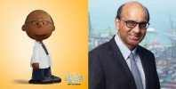 S'poreans affectionately Peanutized beloved new prime minister Tharman Shanmugaratnam
